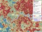 Map of deprivation in London