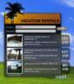 Vacation Rentals Search Yahoo Widget