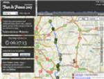 Tour de France Tracking in Realtime