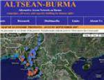 Protests in Burma Map