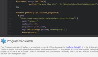How To Get YouTube Playlist Contents from the YouTube Data