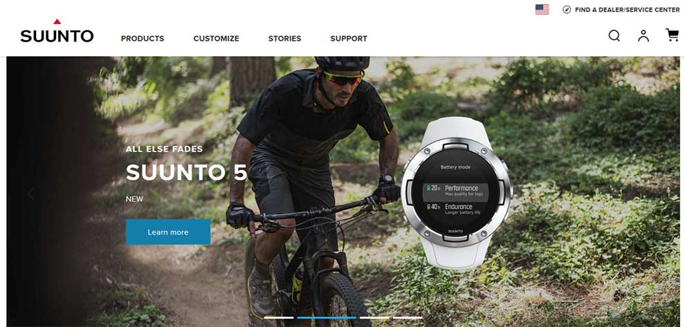 Suunto APIs for fitness