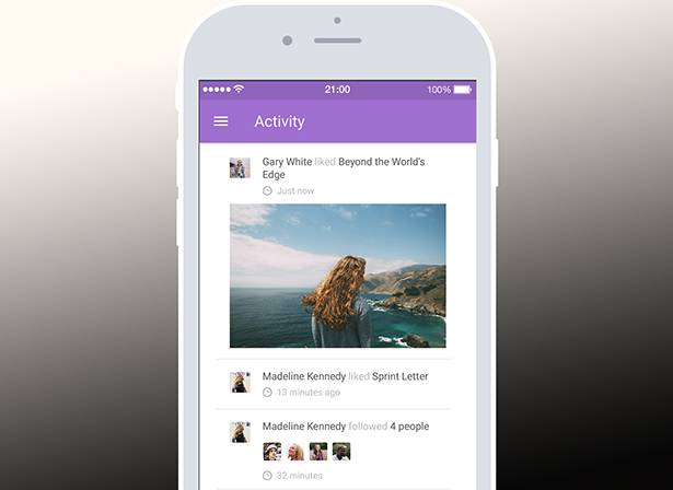 Add social feeds to apps via Tapglue API