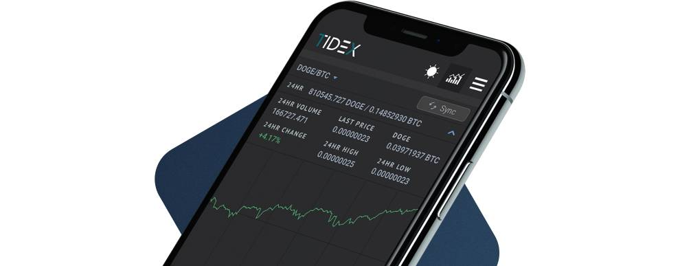 TIDEX API can power cryptocurreny trading applications