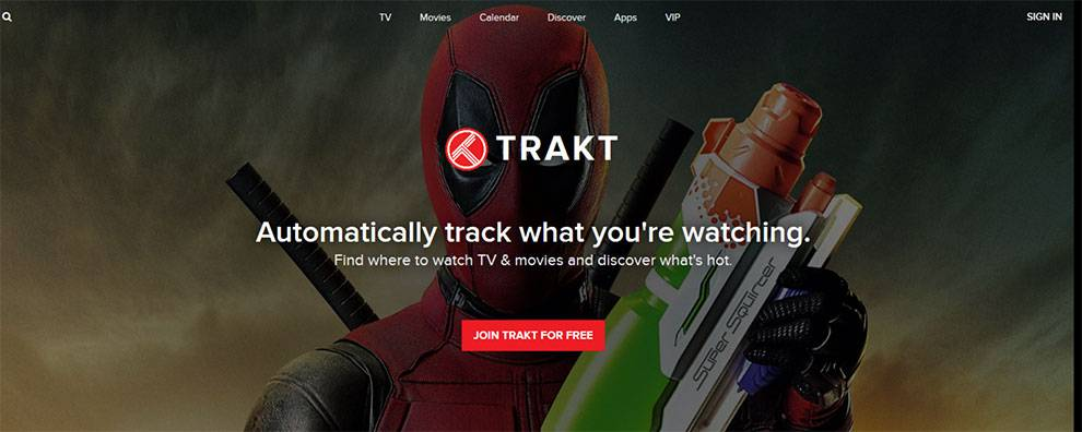 Use the Trakt API to power media center plugins, mobile apps, watch apps, CLU, and smart home integrations