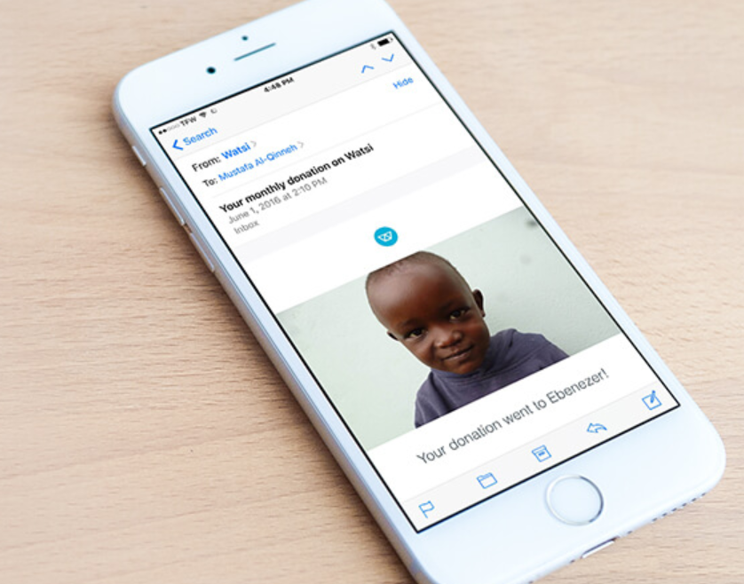 Developers can use Watsi API to add healthcare donation to apps