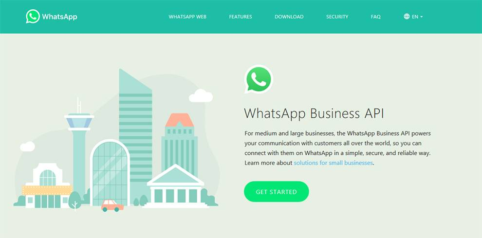 Facebook has announced WhatsApp Business API