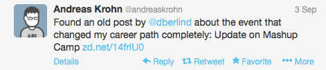 Tweet from Andreas Krohn