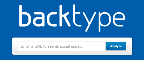 BackType's Search Box