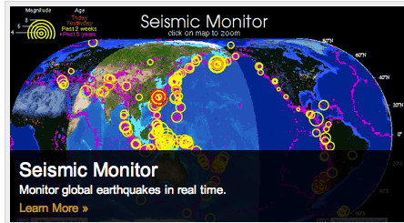 IRIS Seismograph in Schools API: Shaking Up Learning on Earthquakes
