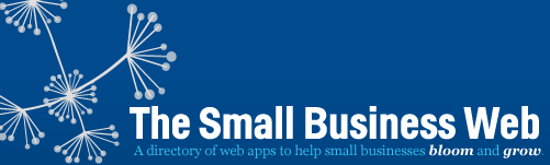 The Small Business Web Logo Banner