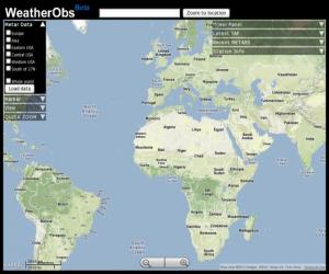 Best New Mashups Weather Mashups Using Weather Underground Weather
