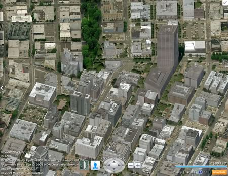 bing maps goes silverlight now with streetside immersion enhanced