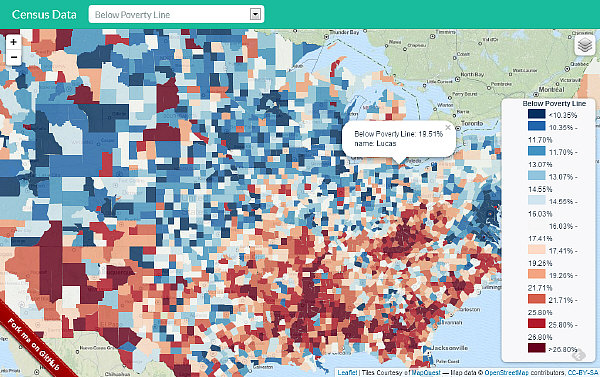 Census Visual Data Explorer App