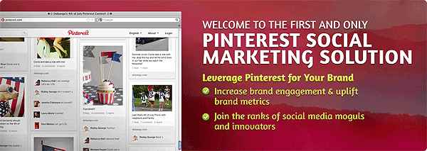 Dobango Social Marketing Solution for Pinterest