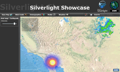 ESRI Silverlight Demo
