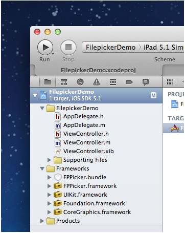 filepicker demo