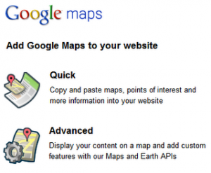 Add Google Maps to your website, Quick or Advanced?