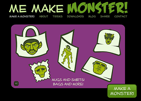 Make Me Monster Zazzle Products