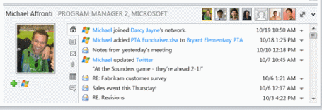 Outlook Social Connector Screenshot