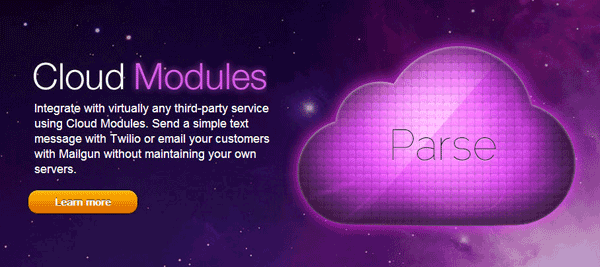 Parse Mandrill Cloud Module
