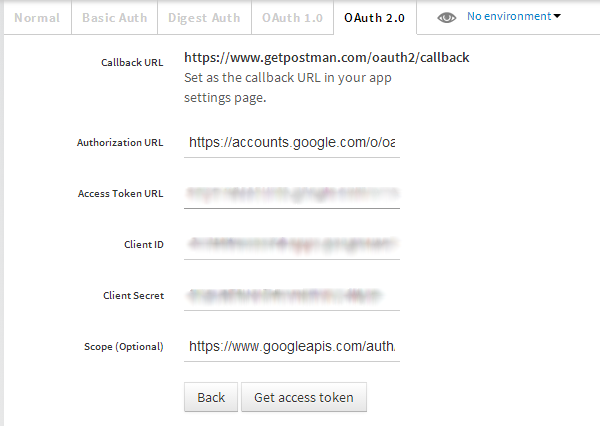 OAuth2