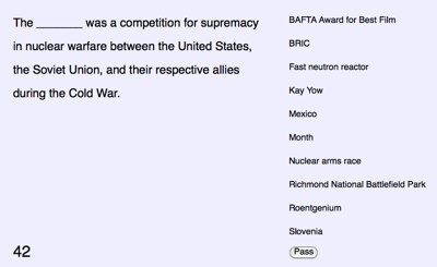 fill in the blank with wikipedia quiz programmableweb