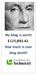 How much is your blog worth?