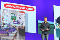 Nick Lansley (Tesco) at PDC2008