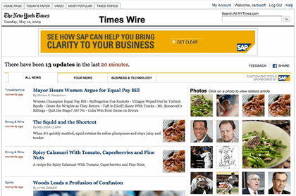 times-wire