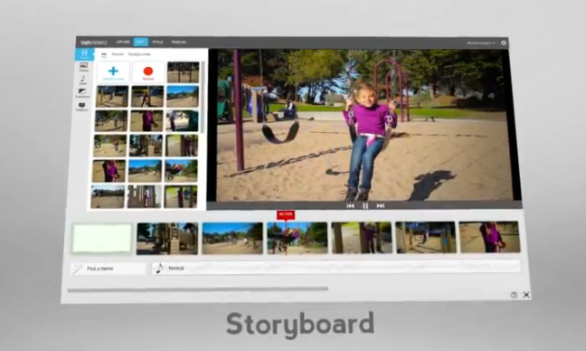 The Wevideo API: Editing and Storyboard Tools at Your